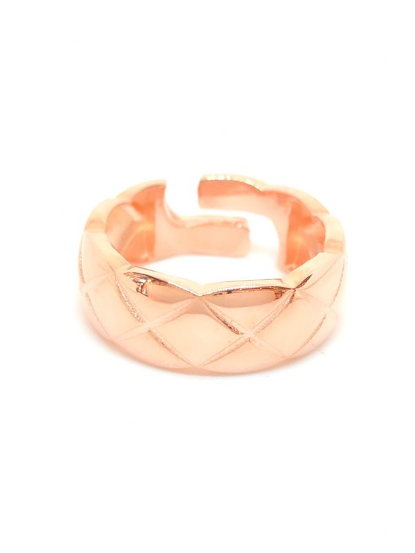 Quadrilateral Shaped Ring