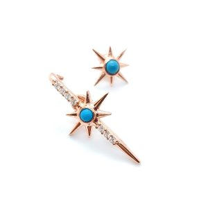 North star T earring